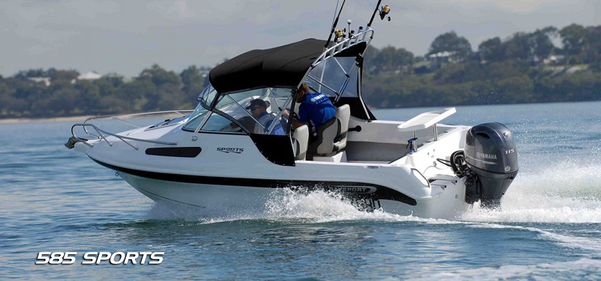 Baysport Boats 585 Sports fibreglass boats