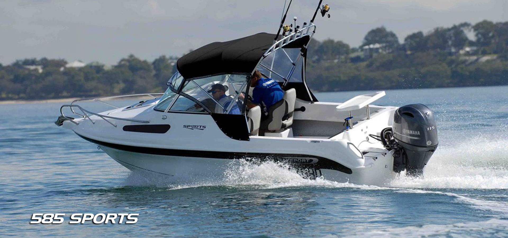 Baysport Boats 585 Sports fibreglass boats