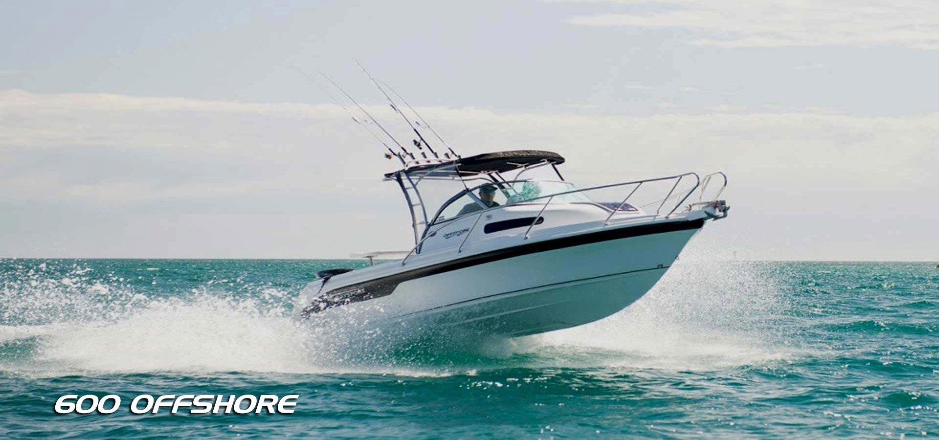 Baysport Boats 600 Offshore fibreglass boat